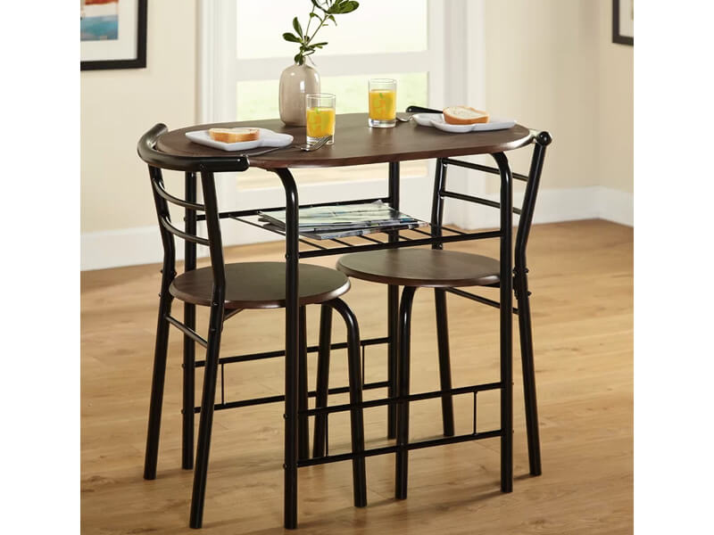 Brown Fullerton Dining Set 4