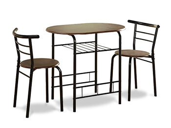 Brown Fullerton Dining Set 2