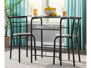 Brown Fullerton Dining Set 3