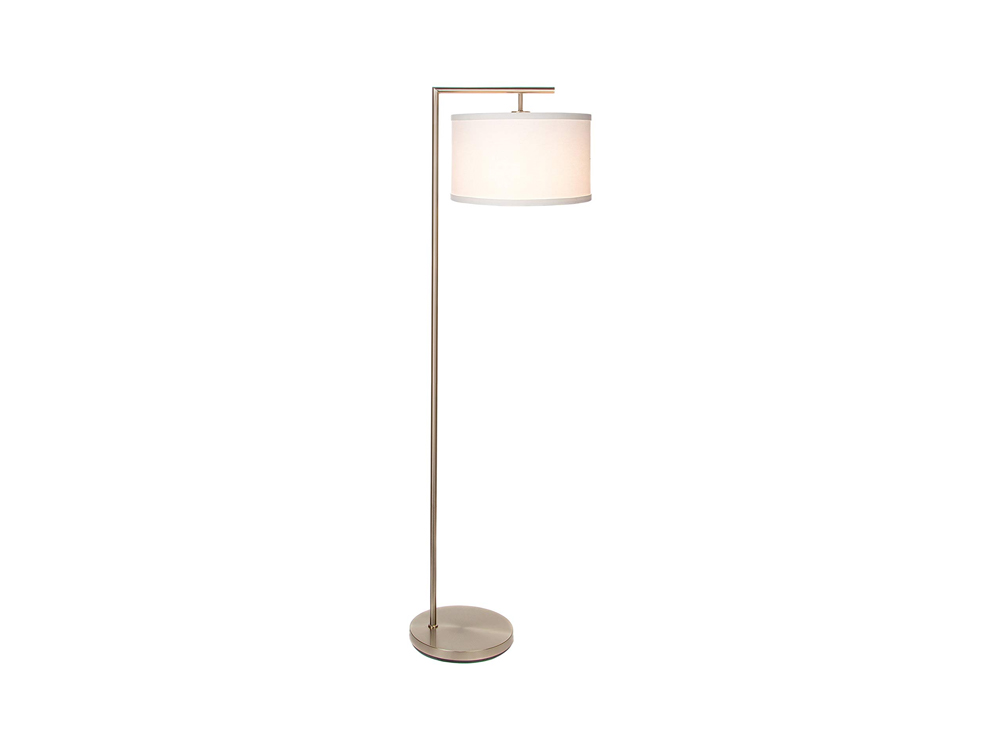 Nickel Floor Lamp
