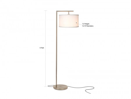 Rent Online Nickel Floor Lamp