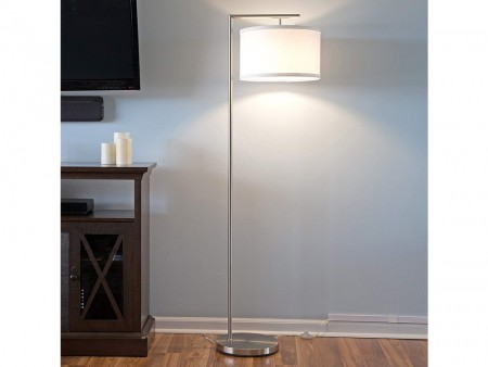 Nickel Floor Lamp for Rent