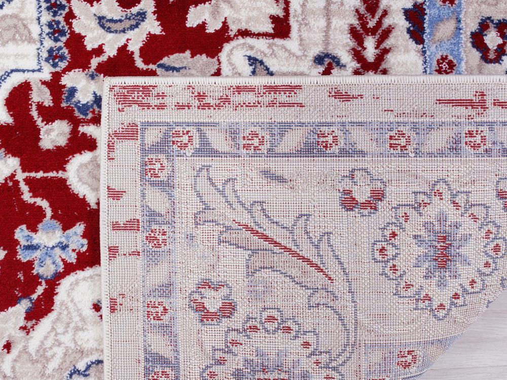 Red Anatolia Rug for Rent