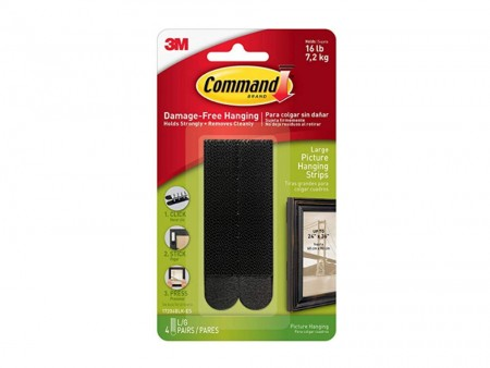 Wall hanging kit - Command strips