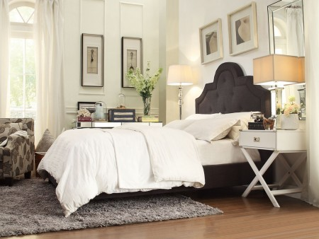 Rent Modern Jay Upholstered Bed