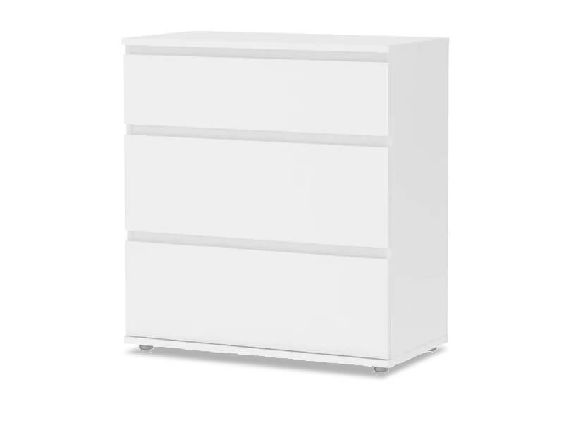 White Jennifer Dresser 1