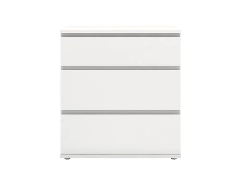 White Jennifer Dresser 2