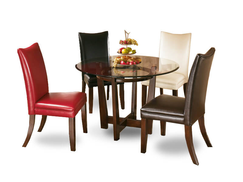Brown Pamela Dining Table 1