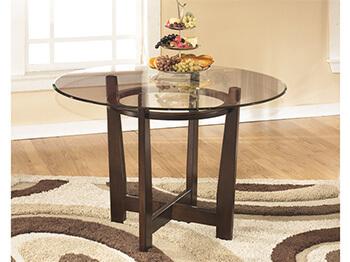 Brown Pamela Dining Table 2