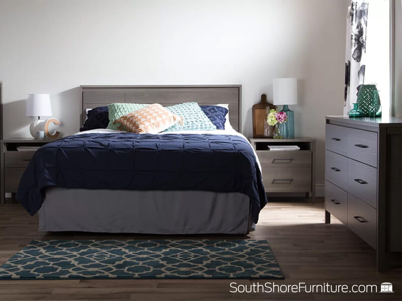 Grey Maple Gilmore Large Dresser 2