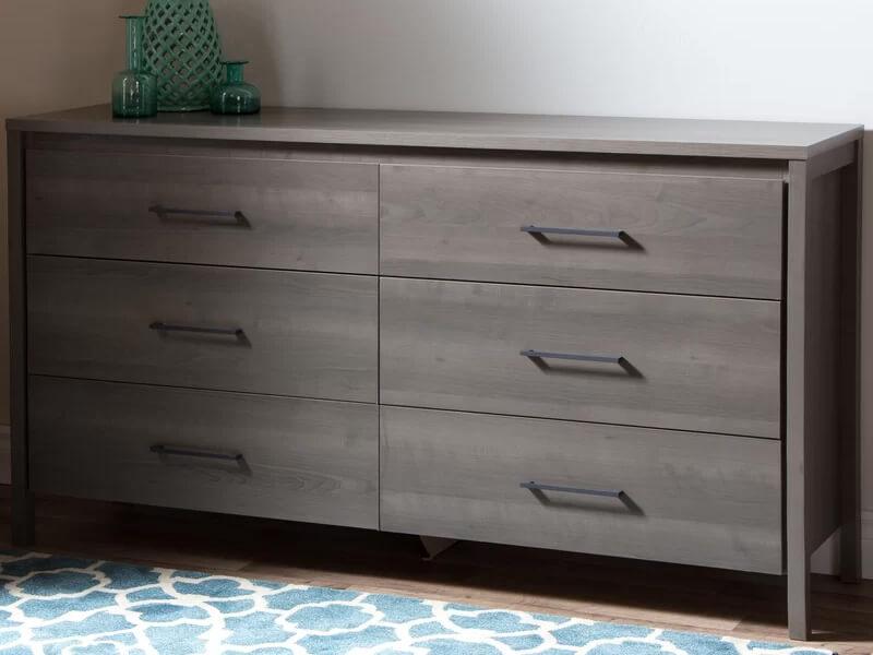 Grey Maple Gilmore Large Dresser 3