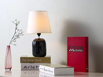 Black Grant Table Lamp 2