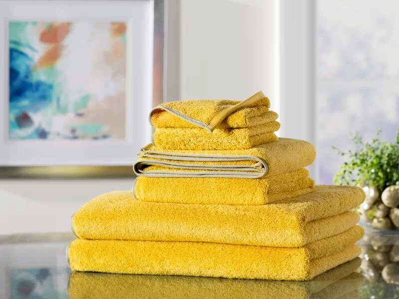 Tangerine 6pc Quick Dry Towel Set 1