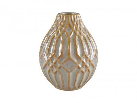 Golden Stone Vase