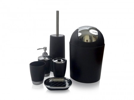 Inhabitr Basic Bath Accessory Set