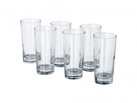 6 glass set