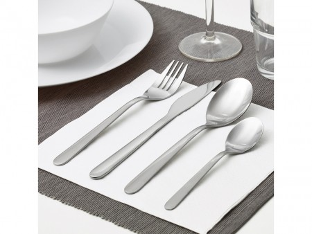 Rent 16-piece flatware set