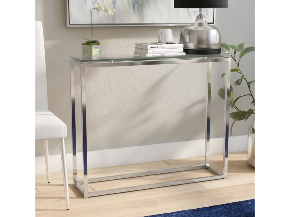 Rent Now Glass Alma Table