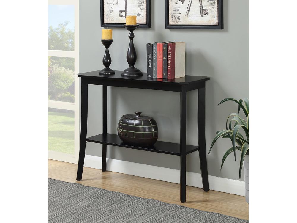 slim fatima console table for rent