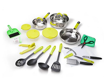 Inhabitr 26-Piece Cookware Set