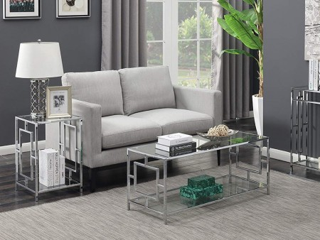 Modern Galleria End Table for Rent