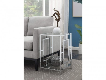 Modern Galleria End Table Rent Online