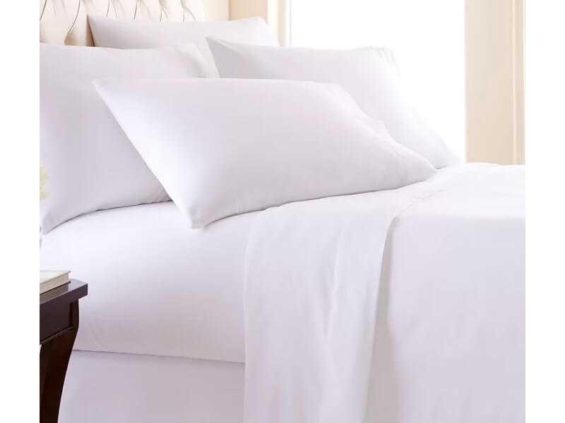 Queen White BrynMawr Sheet Set 1