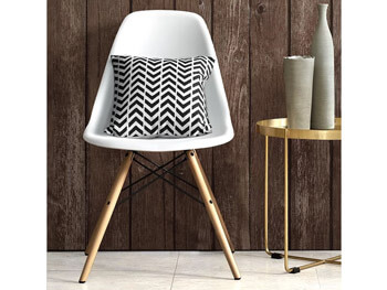 White Valerian Side Chair 2
