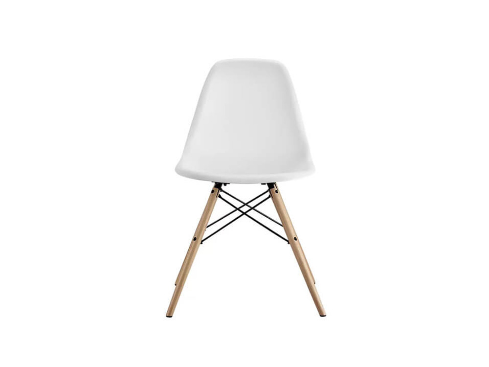 White Valerian Side Chair 1
