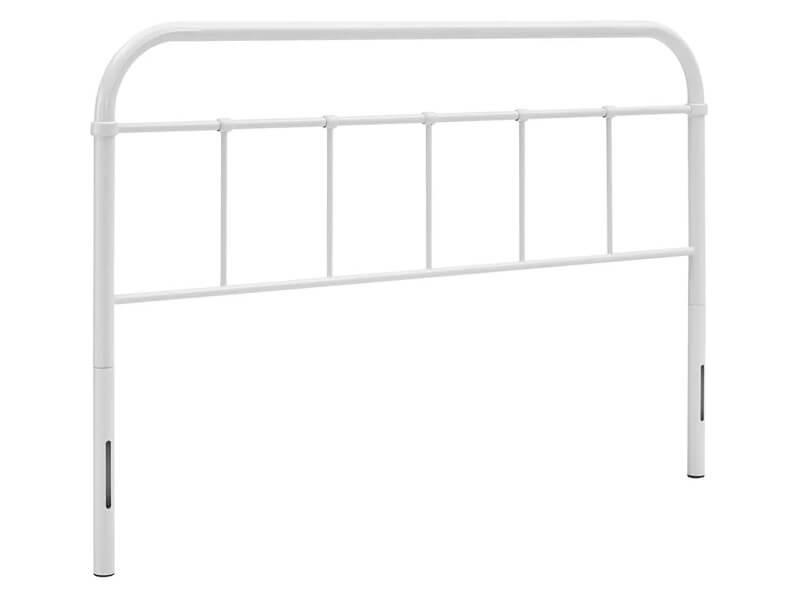Full White Fremont Open Framed Headboard 1