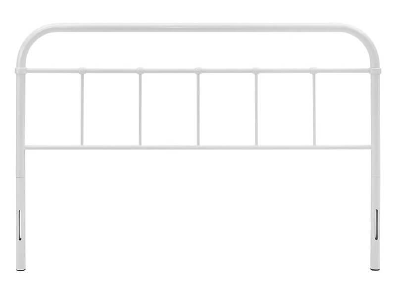 Full White Fremont Open Framed Headboard 2
