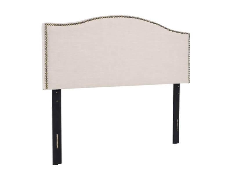 Queen Beige Jolie Upholstered Panel Headboard 1