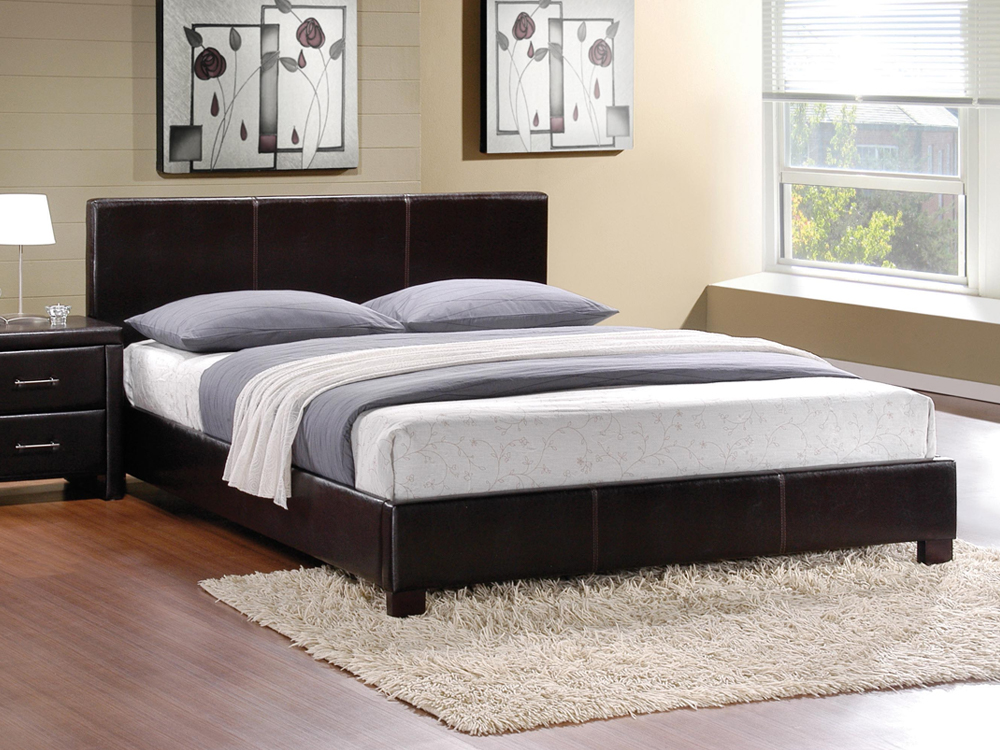 Rent Modern Clif Upholstered Bed