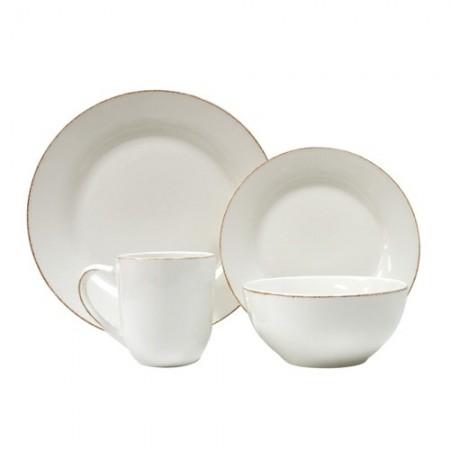 White Dinnerware Set