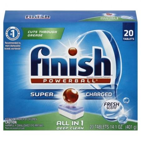 Finish Automatic Dishwasher Tabs
