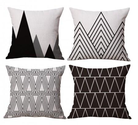 Black and White triangle design