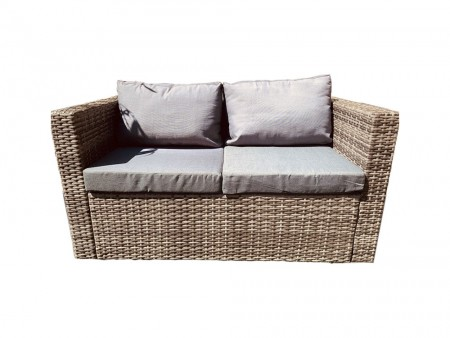 Rent Patio Outdoor 2 Chairs and Loveseat Lounging Set - Oak Park