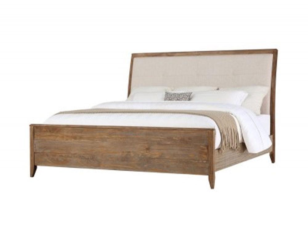Oak Natural Bed 2