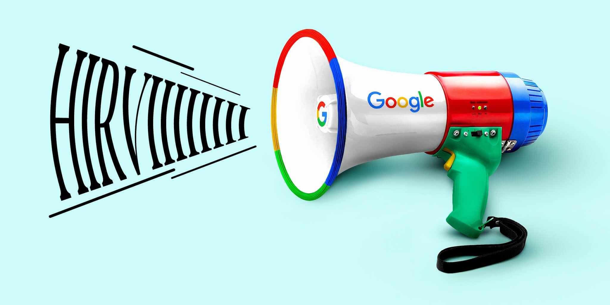 HIRVI er Google partner