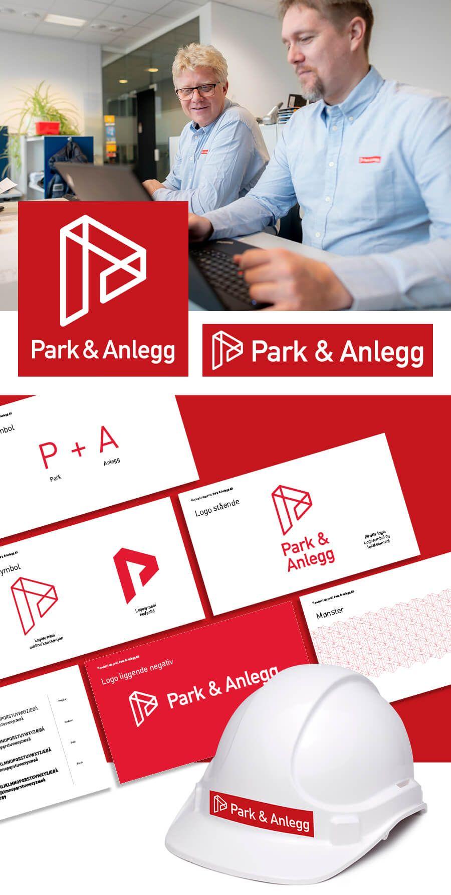 Hirvi_Park Anlegg_logo