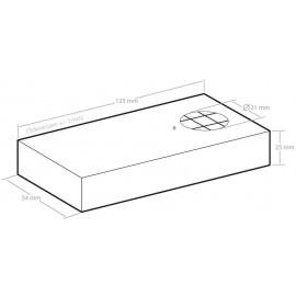 Ultrahangos nyestriasztó és menyétriasztó, elemes, 55 m², Kemo FG022 4. kép