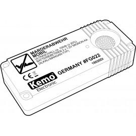 Ultrahangos nyestriasztó és menyétriasztó, elemes, 55 m², Kemo FG022 5. kép