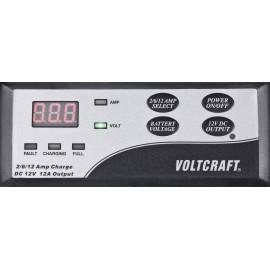 Autó akkumulátor töltő, gyorstöltő funkcióval 12V 12A, Voltcraft WCV12000 3. kép