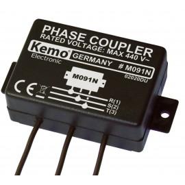 Fáziscsatoló modul Powerline termékekhez, 110 - 440 V/AC, KEMO M091N
