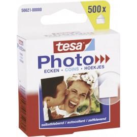 Fénykép ragasztófül Tesa® Photo Mounts 500 db átlátszó TESA 56621