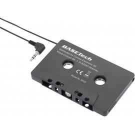 CD-/MP3 adapter kazetta, fekete, Basetech