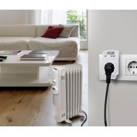 Konnektoros termosztát köztes dugóval, 5...30 °C, Renkforce MH-850 T 2. kép