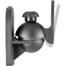 Fali hangfal tartó, 1 pár, fekete, Speaka Professional 3. kép