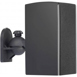 Fali hangfal tartó, 1 pár, fekete, Speaka Professional 5. kép