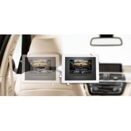 Autós tablet tartó fejtámlára szerelhető táblagép tartó konzol 17,8 cm (7) - 26,4 cm (10,4) renkforc 3. kép